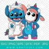 Stitch And Unicorn Cosplay SVG