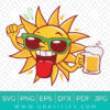 Summer Beer SVG