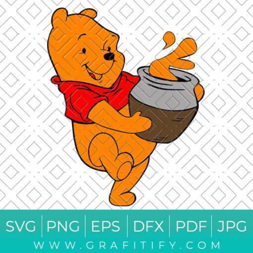 Winnie The Pooh SVG