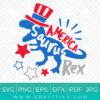 America Saurus Rex Svg