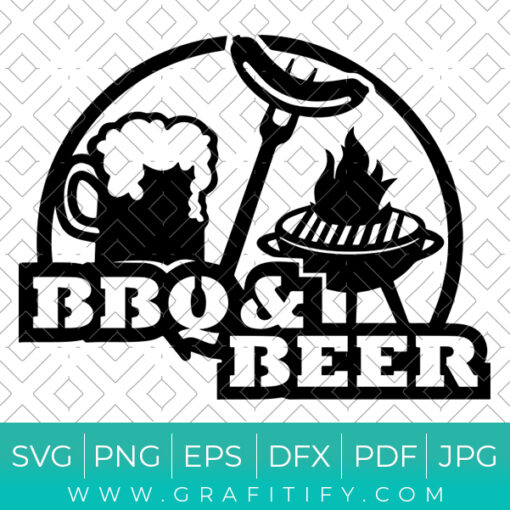 BBQ And Beer Svg