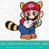 Cute Super Mario Bros Svg