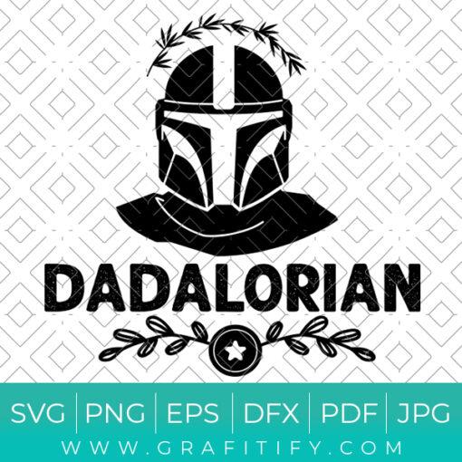 Dadalorian Svg