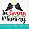 In Loving Memory Svg