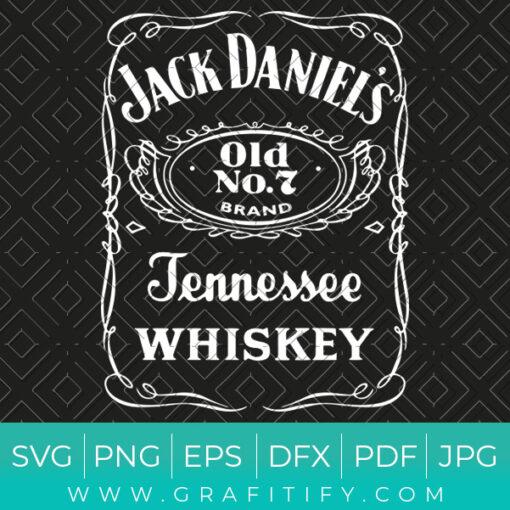 Jack Daniels Svg