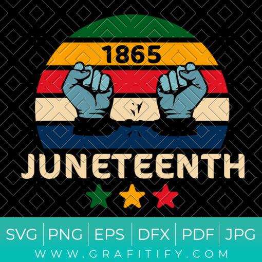 Juneteenth Celebrate Freedom Svg