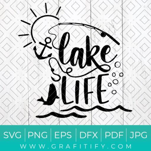 Lakelife Svg