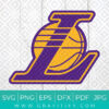 Los Angeles Lakers Svg
