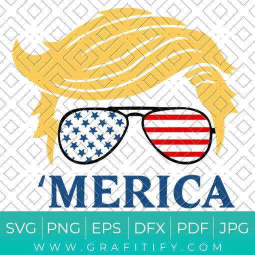 Donald Trump Svg Cut File