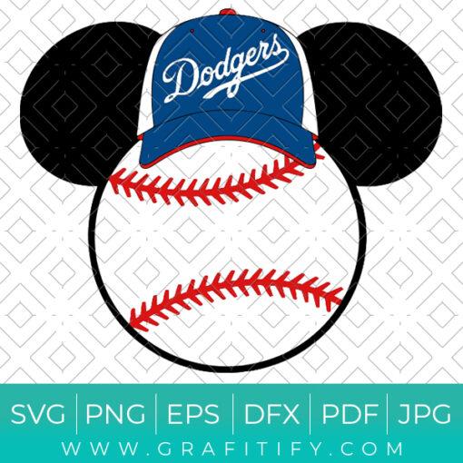 Disney Dodgers Svg