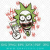 Rick And Morty Joker Svg