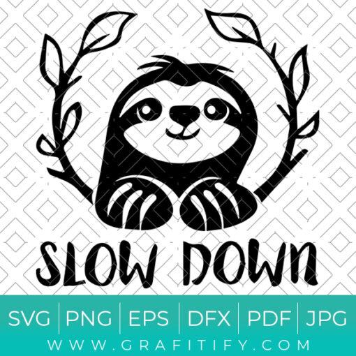 Slow Down Svg