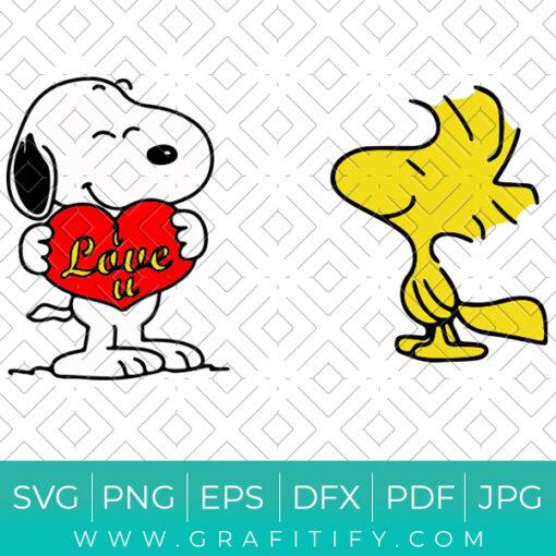 Snoopy Svg