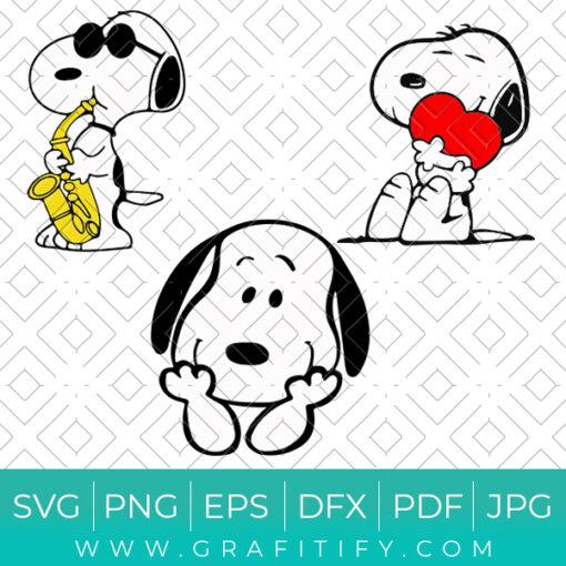 Snoopy Svg Bundles