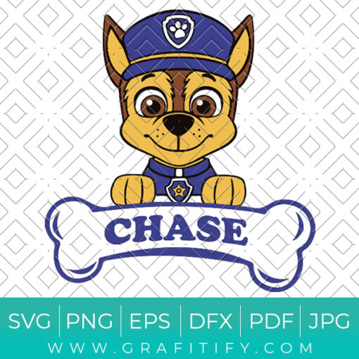 Chase Paw Patrol Svg