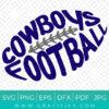 Cowboys Football Svg