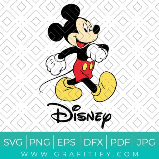 Disney Mickey Mouse Svg