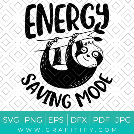 Energy Saving Mode Svg