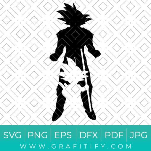 Goku Svg