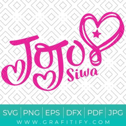 Jojo Siwa Svg
