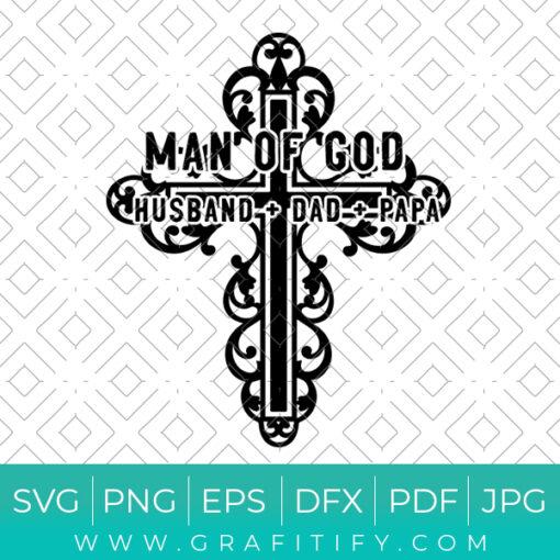 Man of God Svg