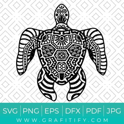 Sea Turtle Svg