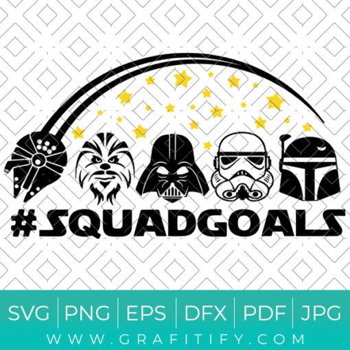Starwars Squad Goals Svg