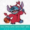 Halloween Stitch Svg