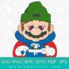 Stoned Super Mario Svg