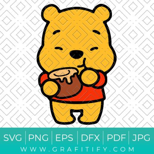 Cute Winnie the Pooh Svg