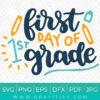 First Grade SVG