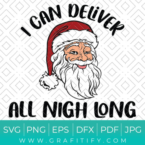 Funny Santa Claus Svg