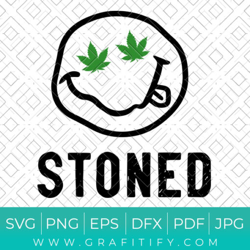 Stoned Svg