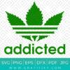 Adidas Addicted Svg
