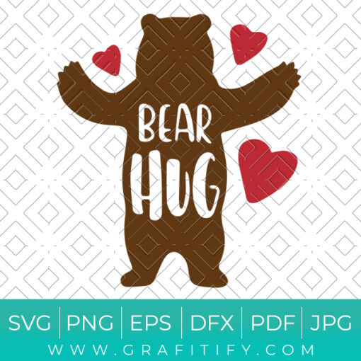 Bear Hug Svg