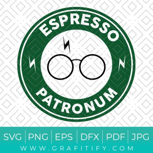 Espresso Patronum Starbucks Svg