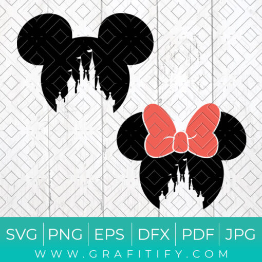 Mickey Ears Svg