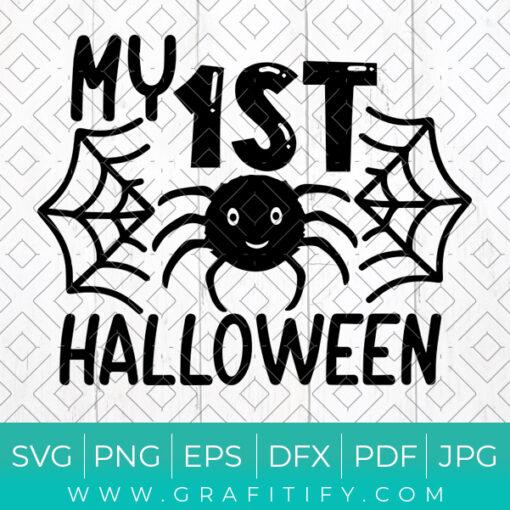 My 1st Halloween Svg