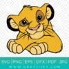 Simba Lion king Svg