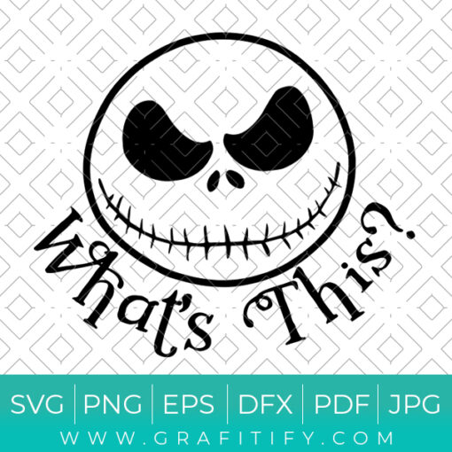 The Nightmare Before Christmas Svg