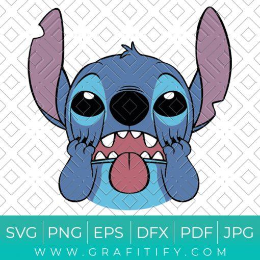 Stitch Face Svg