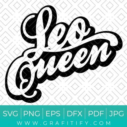 Leo Queen Svg