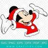 Mickey Mouse Christmas Svg
