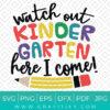 Watch Out kindergarten Svg