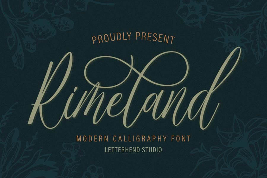 Rimeland — Modern Calligraphy