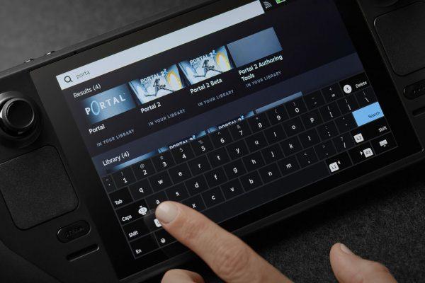 Steam Deck touchscreen.0