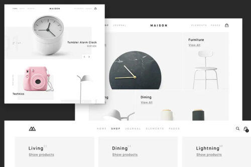 Example from The 15 Best Free eCommerce & Shopping Themes for WordPress